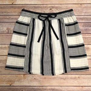 NWT LOFT Lou & Grey Striped Cabana Skirt